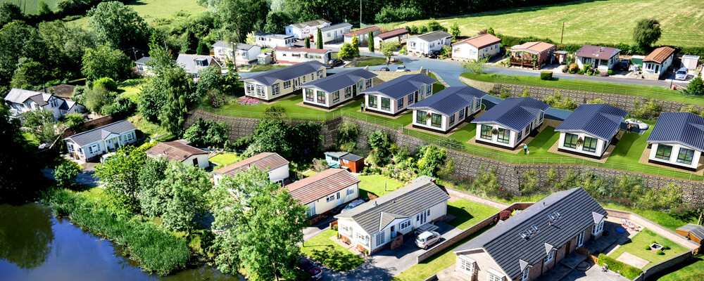 New park homes in Cheshire