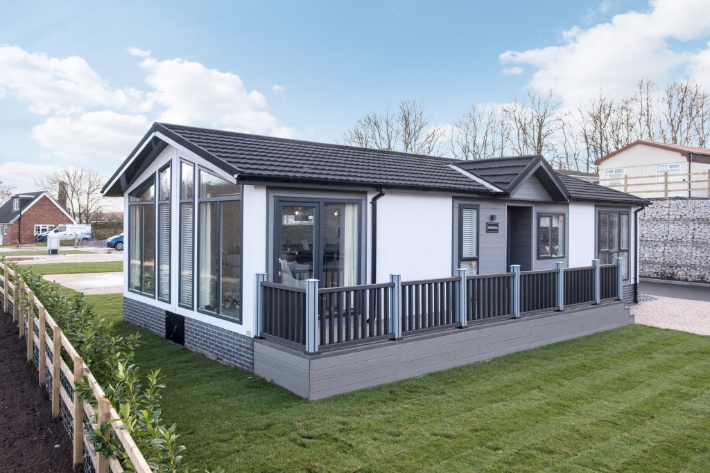Open days at Riverside Park in Cheshire: Come see the Tingdene Havana park home!